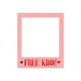 Marco fotos selfie 50x60 cm Free kiss
