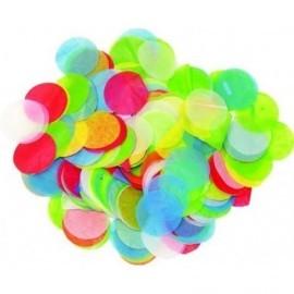 Confeti multicolor de papel de seda 50 gr