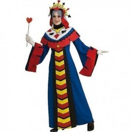 Disfraz de reina de poker