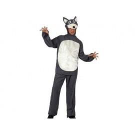 Disfraz de lobo talla 2 m-l 10177 feroz animales adu