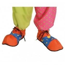Zapato payaso naranja azul 2211