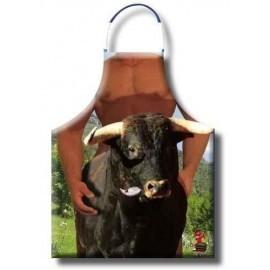 Delantal toro cogido por detras originales