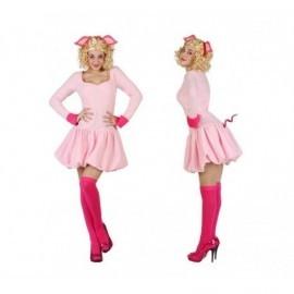 Disfraz de cerdita rosa peggy talla m-l 22993 choni