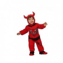 Disfraz demonio bebe 0-6 meses halloween