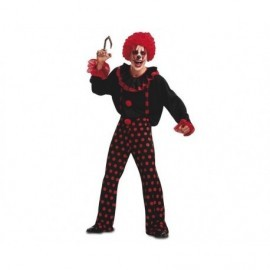 Disfraz de payaso diabolico m-l siniestro halloween
