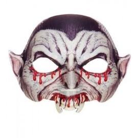 Mascara vampiro dracula sin menton media careta