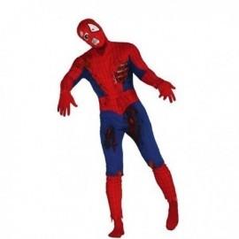Disfraz de spiderman zombie talla L adulto