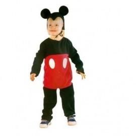 Disfraz de raton bebe 2-3 infantil mickey mouse