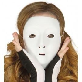 Media careta blanca decorar mujer 1133