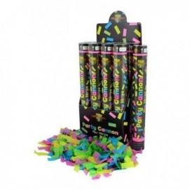 Cañon de confeti fluor 40 cm