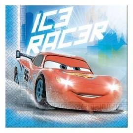 Servilletas cars ice 33 x 33 cm 20 unidades