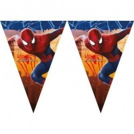 Guirnalda felicidades spiderman ultimate