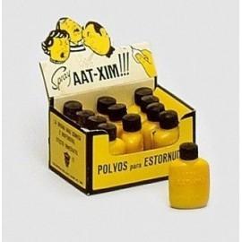 Polvos de estornudar con envase aatxim