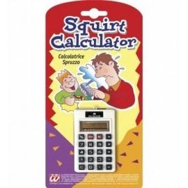Calculadora chorro de agua broma
