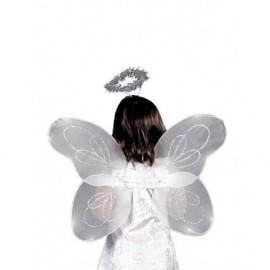 Alas angel con diadema infantil