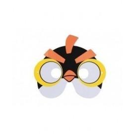 Mascara eva pajarito amarillo angry bird