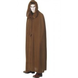 Tunica monje marron capa enterrador siniestra