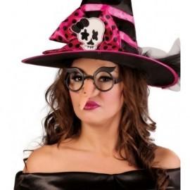 Nariz bruja con gafas 3986 para halloween