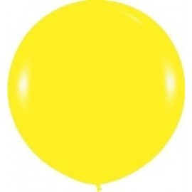 Globo balon amarillo fashion solido 1ud sempertex