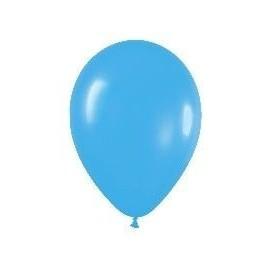Globo azul solido R5 12,5 cm 100 uds sempertex