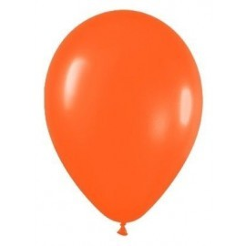 Globo naranja R9 23 cm Sempertex latex 50 u