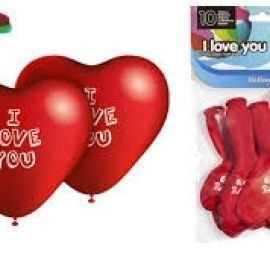 Globos corazon i love you 80 cm perimetro 28 cm di