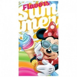 Toalla minnie mouse helado 70x140 cm playa o piscina
