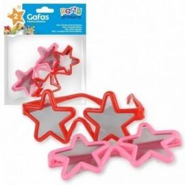 Gafas forma de estrella baratas 2 uds