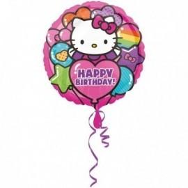 Globo hello kitty happy birthday 18 45 cm