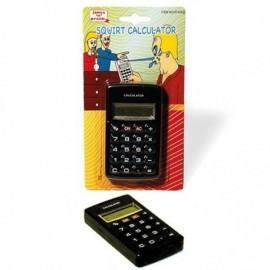 Broma calculadora ducha que hecha agua