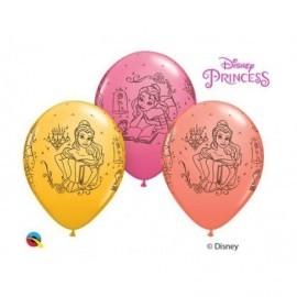 Globos de la princesa bella latex 11 28 cm para cumpleaños unidad