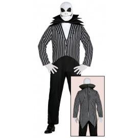 Disfraz de jack similar al de pesadilla antes de navidad hombre