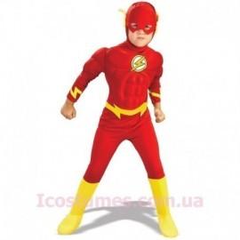 Disfraz de flash deluxe para niño varias tallas relampago