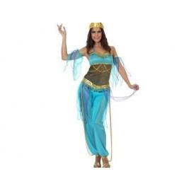 Disfraz de bailarina arabe azul tallas mujer