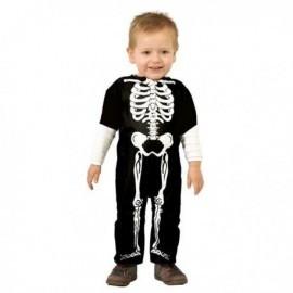 Disfraz de esqueleto bebe infantil tallas