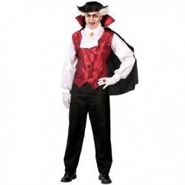 Disfraz de conde dracula vampiro adulto tallas m o l