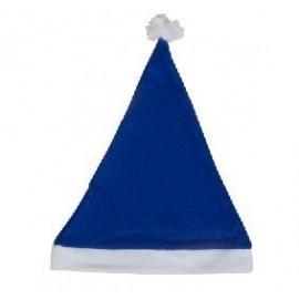 Gorros papa noel azul baratos pack de 600 unidades