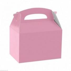 Cajita rosa para detalles unidad