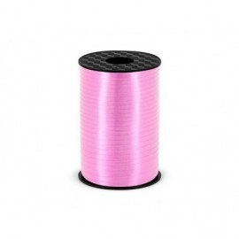 Lazo rosa para globos 225 metros x 5 cm