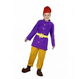 Disfraz de enanito talla 7-9 años