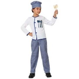 Disfraz de cocinero para niño de 7 a 9 años