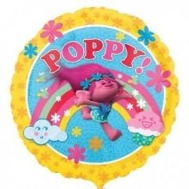 Globo poppy de trolls 43 cm helio o aire