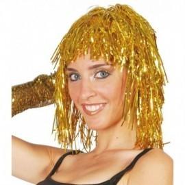 Peluca oro brillante de lumalina