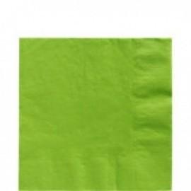 Servilletas verdes 20 unidades de 33x33 cm