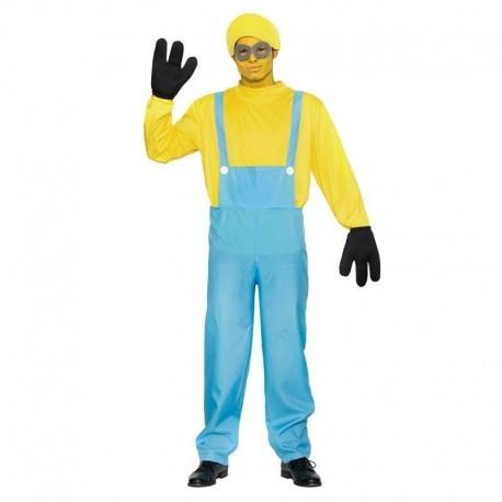 Disfraz de mini heroe amarillo para hombre