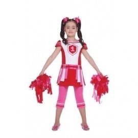 Disfraz de animadora infantil cheerleader talla 10-12 años