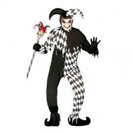 Disfraz de black joker arlequin para hombre