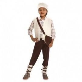 Disfraz de pastorcillo blanco para niño tallas infantil