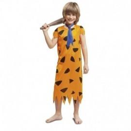 Disfraz de troglodita niño talla 10 a 12 años pedro