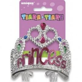 Corona para cumpleaños de niña Princess
